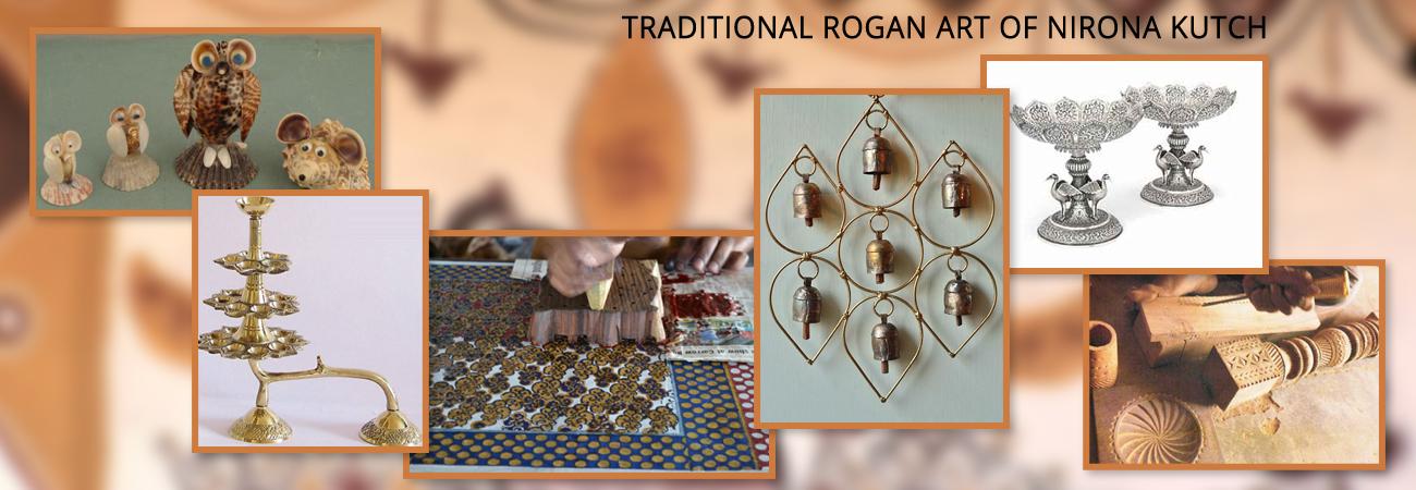 TRADITIONAL ROGAN ART OF NIRONA KUTCH