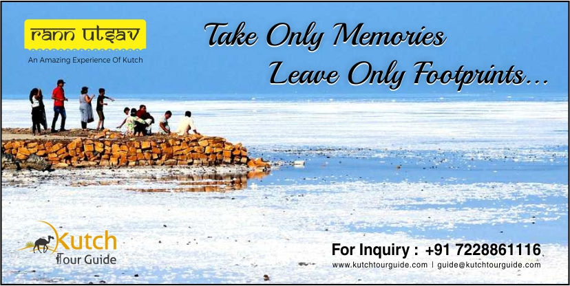 Kutch Rann Utsav| Take only memories leave only footprints